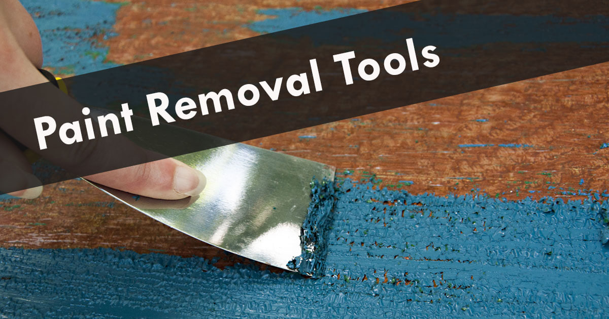 How to Remove Paint from Wood, Stone, Metal or Steel